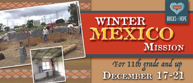 Winter Mexico Mission Trip