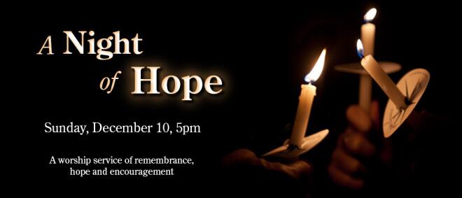 Night of Hope Service