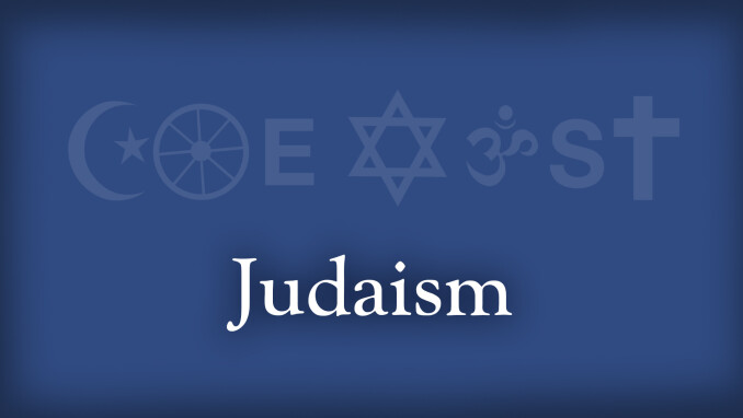 Coexist: Christianity and Judaism