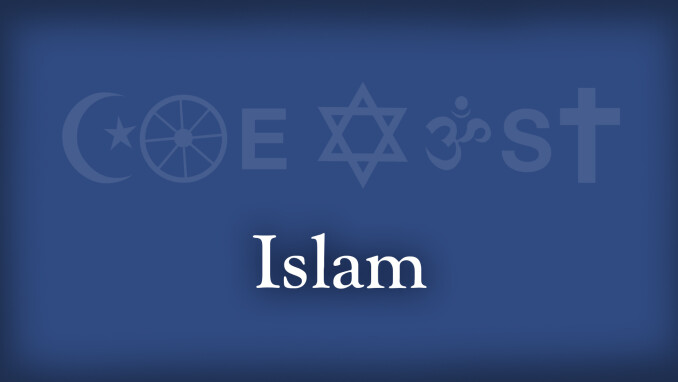 Coexist: Christianity and Islam