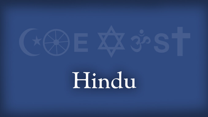 Coexist: Christianity and Hinduism