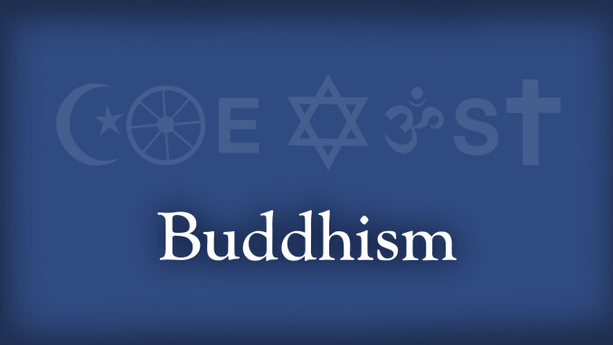 Coexist: Christianity and Buddhism