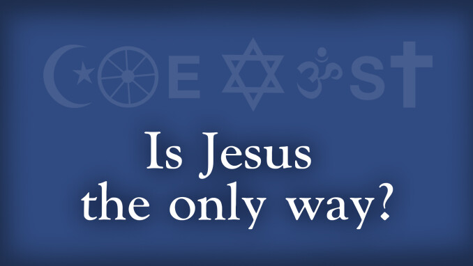 Coexist: Is Jesus the Only Way?