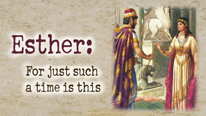 Sacred Characters: Esther