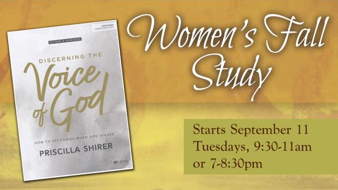 Women's Evening Fall Book Study