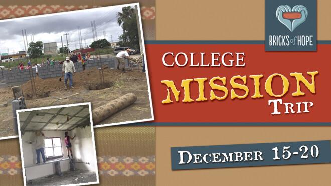 College Mexico Mission Trip