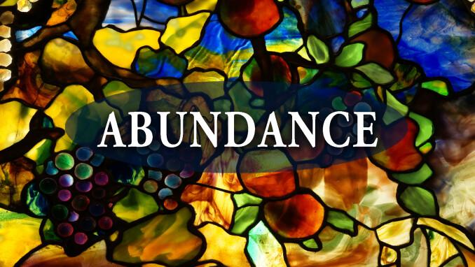 Abundance Sermon