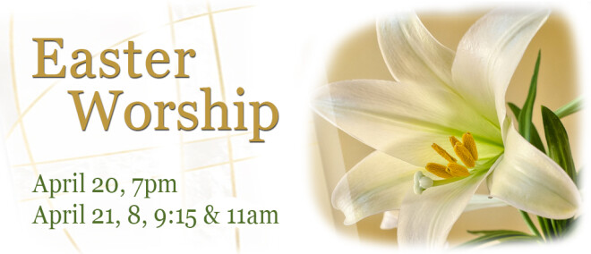 7pm Easter Eve Worship Service
