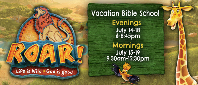 Vacation Bible School 2019 Day Session