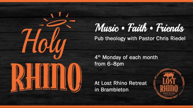 Holy Rhino: Pub Theology