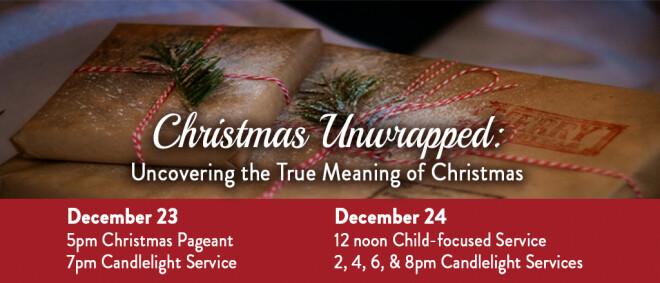 5pm Christmas Eve Eve Service