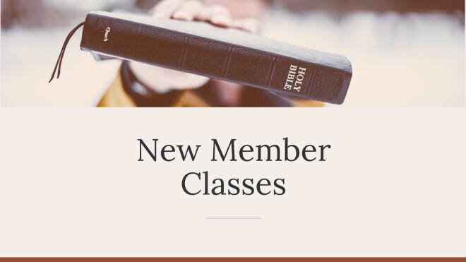 Membership Classes Winter 2020