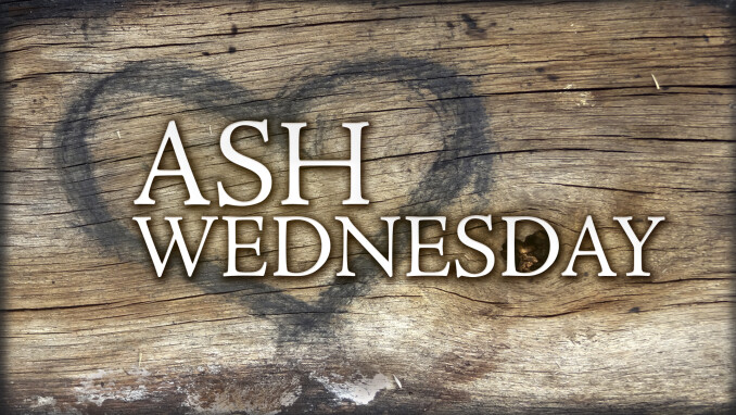 Ash Wednesday Worship Service: The Meaning of Dust