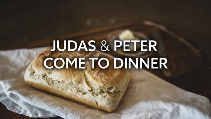 Journey to the Cross: Judas & Peter