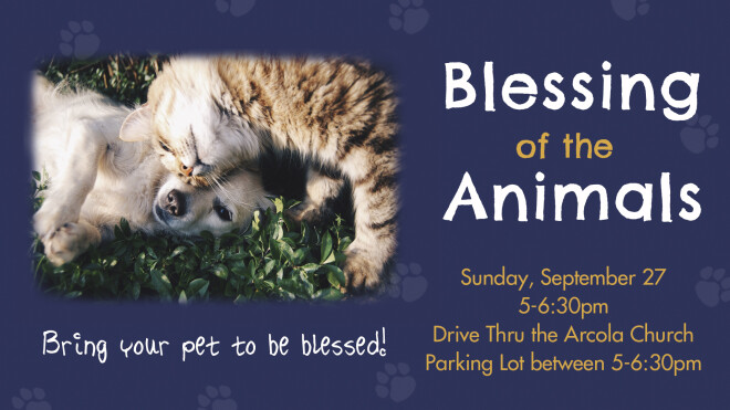 Blessing of the Animals Drive Thru