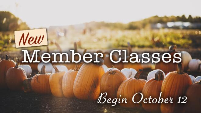 Fall New Member Class