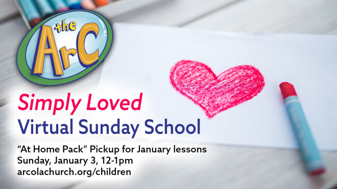 January Sunday School At Home Pack Pickup