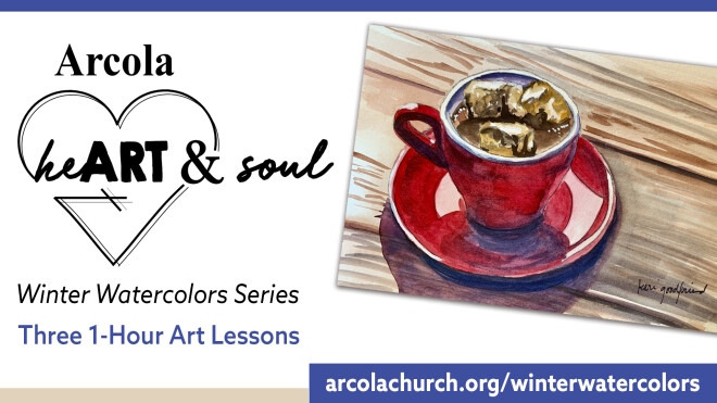 heArt & Soul Winter Watercolors Workshop