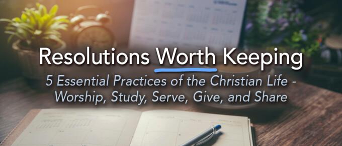 Resolutions Worth Keeping: Study